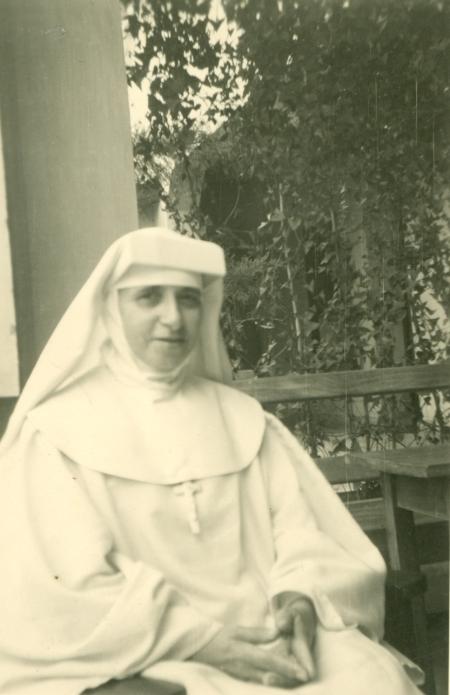 Sor Ana Comesaña Bugarín, tía de Pilar. Misionera en el Congo.
