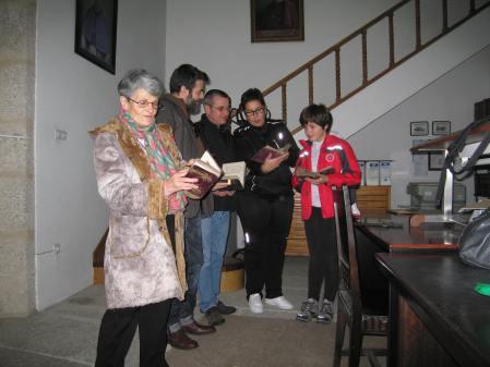 Nieves, Borja, Fernando, Susana y Marta