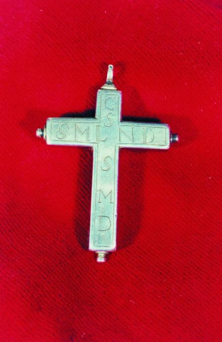 Pectoral relicario del obispo Rosendo Salvado