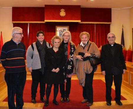 Miguel Ángel Capón, María José González, Marisa Díaz-Fierros, Anna Haebich, Rosa Velasco y Avelino Bouzón.